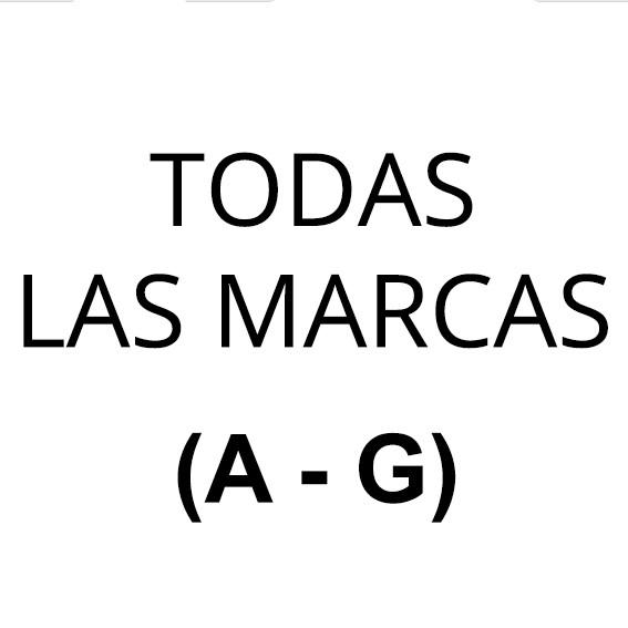 TODAS LAS MARCAS (De la A a la E)