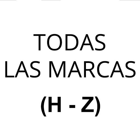 TODAS LAS MARCAS (De la F a la V)
